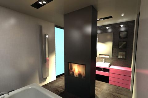 Projekt wnętrza. . Konkurs DEANTE na projekt łazienki