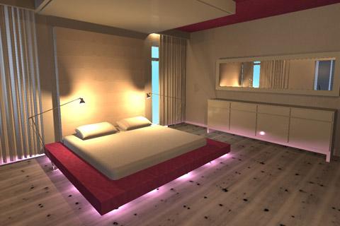 Projekt wnętrza. . Konkurs HIRNY - Apartament marzeń - 2009