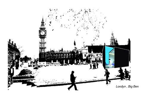 Projekt wnętrza. . Konkurs KLER - Wizja wypoczynku 2010 - pod hasłem Salon Trend Huntera