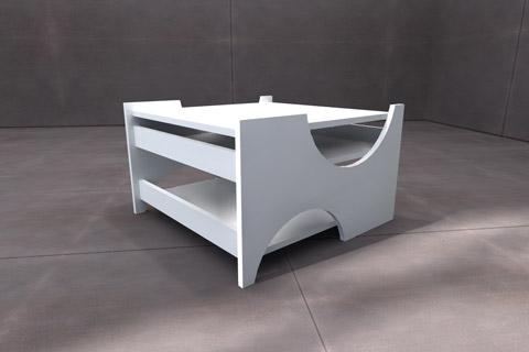 Projekt wnętrza. . Konkurs MEBLI VOX na stolik kawowy