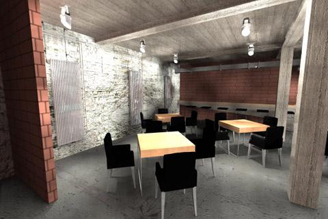 Projekt wnętrza. . Konkurs VASCO - Integracja - 2011