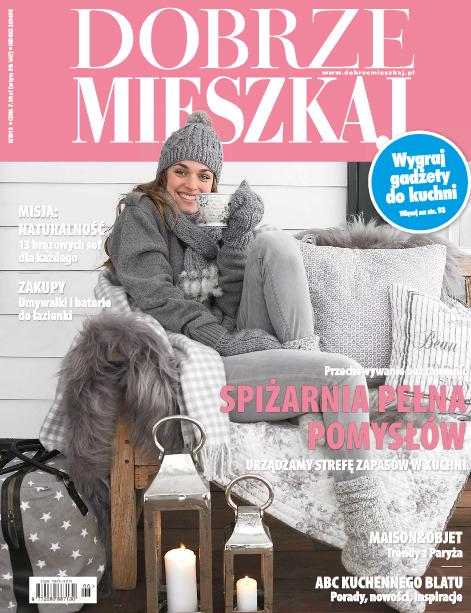 """Projekt wnętrza. . Artykuł """"Akademia raz jeszcze w Sosnowcu"""" w miesięczniku Dobrze Mieszkaj 12/2013"""