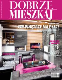 """Projekt wnętrza. . Artykuł """"Biała Magia"""" w miesięczniku Dobrze Mieszkaj 12/2010"""