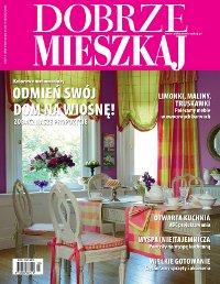 """Projekt wnętrza. . Artykuł """"Kuchnia bez granic"""" w miesięczniku Dobrze Mieszkaj 3/2011"""